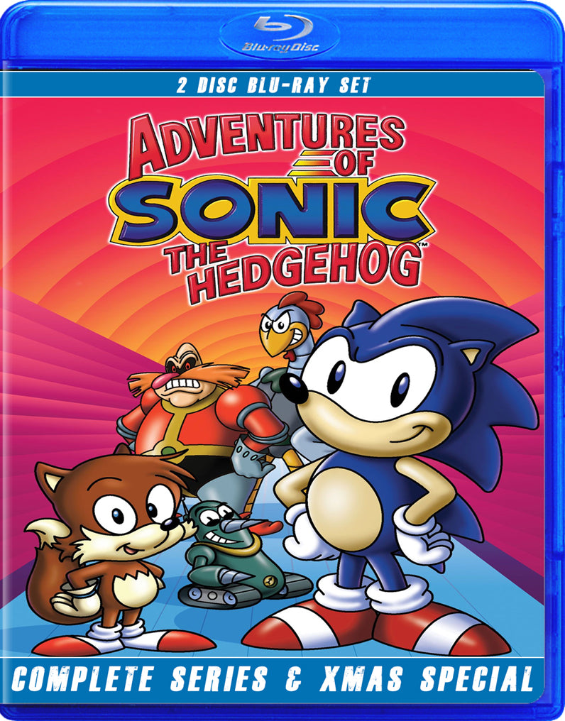 Adventures Of Sonic The Hedgehog Fred The Blu Ray Dog