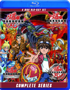 Bakugan: Seasons 1-4