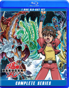 Bakugan Season 1: Rise of The Battle Brawlers