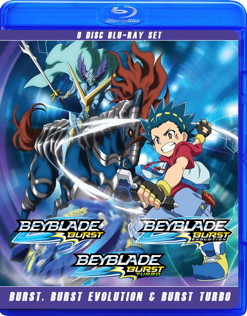 Beyblade: Burst, Burst Evolution, Burst Turbo