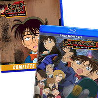 Detective Conan / Case Closed Series + Movies -- English / Japanese Dubbed