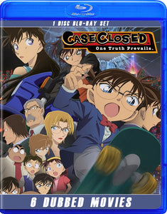 Detective Conan / Case Closed Movies -- English / Japanese Dubbed