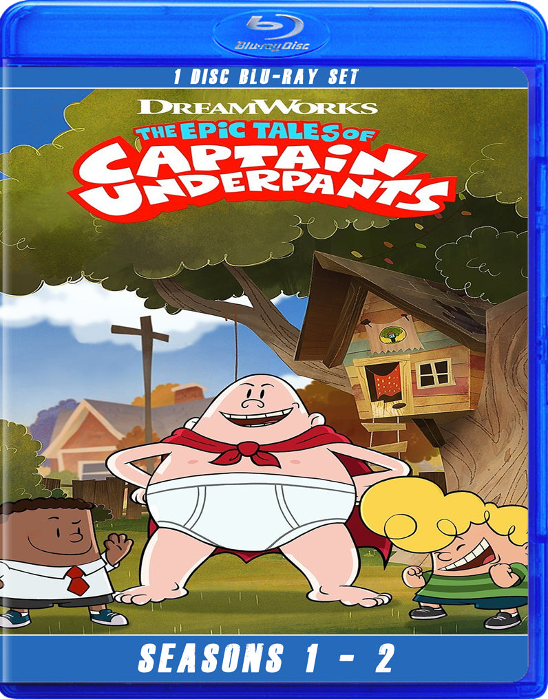 Epic Tales of Captain Underpants, The - Seasons 1 & 2