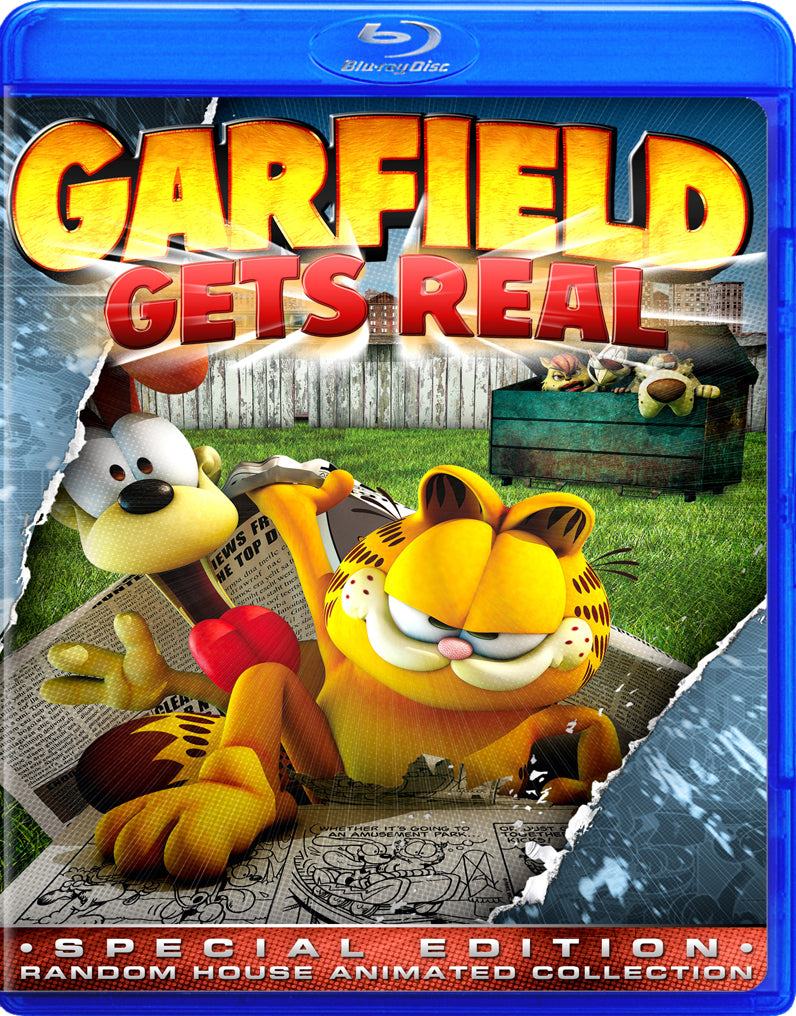 Garfield Gets Real Fred The Blu Ray Dog