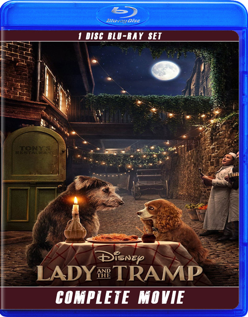 Lady And The Tramp 2019 Fred The Blu Ray Dog