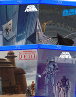 Star Wars: Episode IV-VI - Despecialized Edition v2.7 v2, 2.0, 2.5 + Trilogy Documentaries w/  Special Features & Documentaries