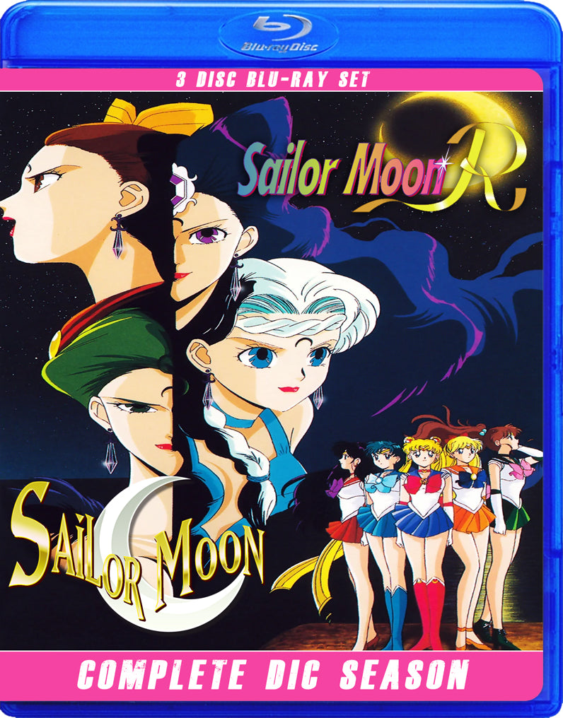 Sailor Moon Original & R - Original DIC Dubbed Series