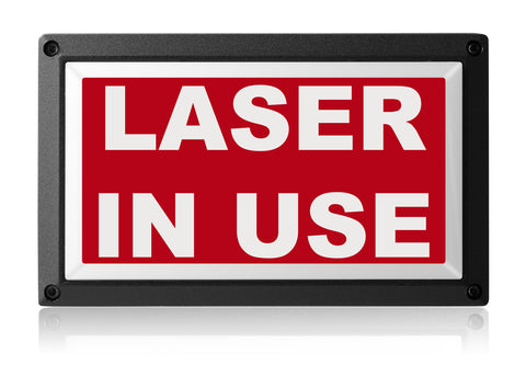 LASER IN-USE LIGHT from Rekall Dynamics