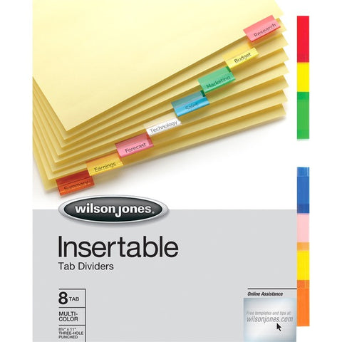 ACCO Brands Corporation Clear Tab Insertble Index Dividers