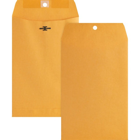 Business Source Business Source Heavy-duty Metal Clasp Envelopes
