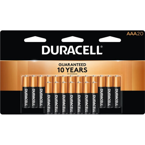 Duracell Inc. Coppertop Alkaline AAA Battery - MN2400