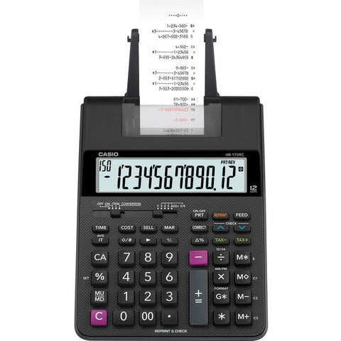 Casio Computer Co., Ltd HR-170RC Printing Calculator