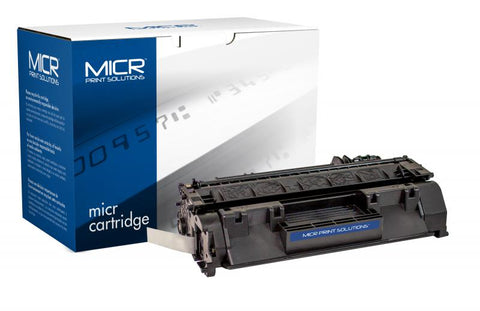MICR Print Solutions New MICR Toner Cartridge for LJ P2035 P2055 (Alternative for HP CE505A 05A) (2300 Yield)