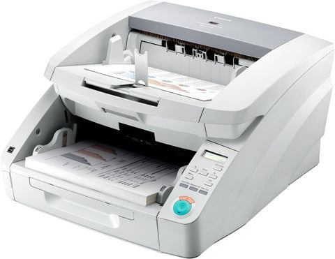 "Canon, Inc imageFORMULA DR-G1100 Sheetfed Scanner (100 ppm) (100 ipm Mono/200 ipm Color) (24 bit Color/8 bit Grayscale) (12"" x 17"") (600 dpi) (Duplex) (USB) (Energy Star) (500 Sheet ADF)"
