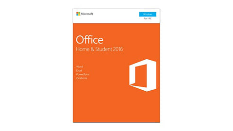Microsoft Corporation  Office 2016 Home & Student - 1 PC - Non-commercial, Medialess