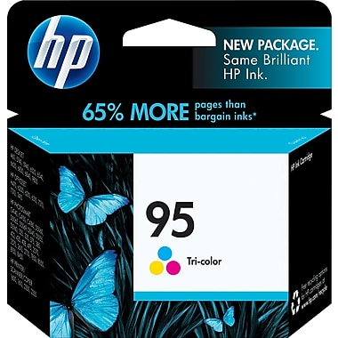 HP 95 (C8766WN) Tri-Color Original Ink Cartridge (330 Yield)