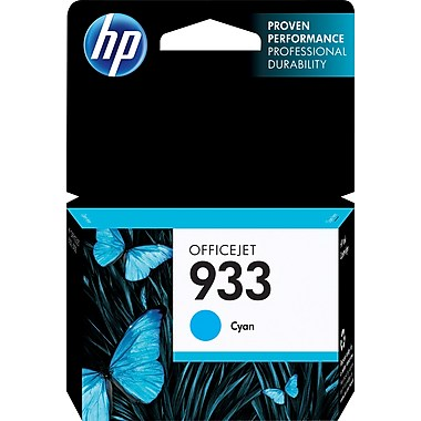 HP 933 (CN058AN) Cyan Original Ink Cartridge (330 Yield)