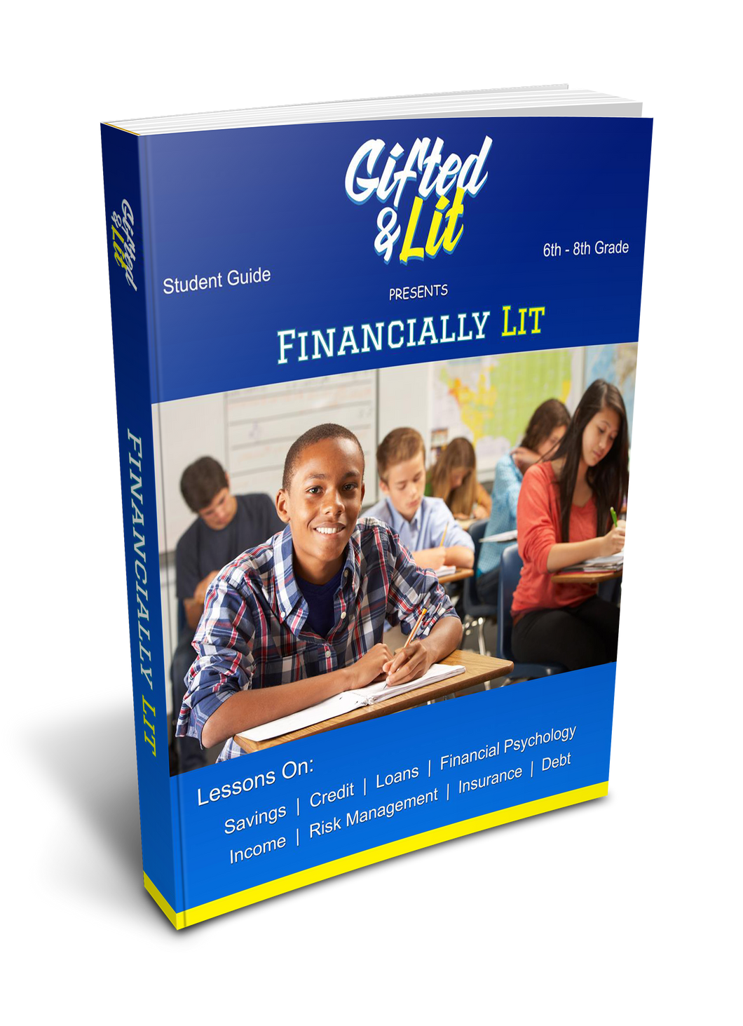 Financial Literacy Curriculum: 6th - 8th Grade (Digital Download)