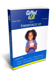 Financial Literacy Curriculum: Pre-K - 2nd Grade (Digital Download)