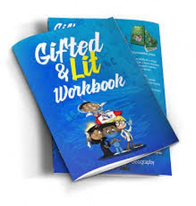 Gifted & Lit Workbook- $10.97
