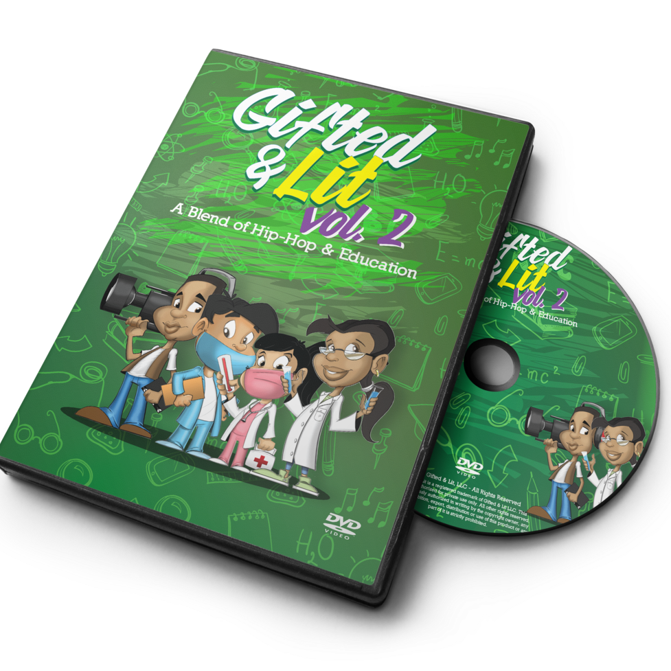BUNDLE SALE!- 5 Gifted & Lit Volume 2 DVDs for $99