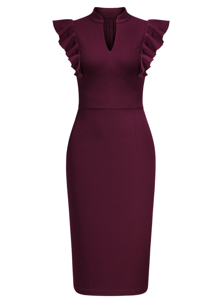 Bodycon Cocktail Pencil Dress - Aisize - New Vintage Simplified Design