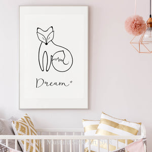 The Peaceful Fox - Dreamy Little Fox Edition
