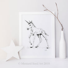 Magical Baby Unicorn that will Star in Childs Bedroom Decor