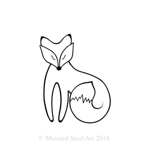 The Peaceful Fox - Minimalist Edition