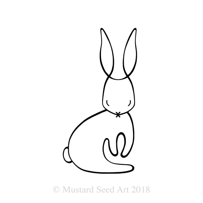 The Serene Rabbit - Minimalist Edition