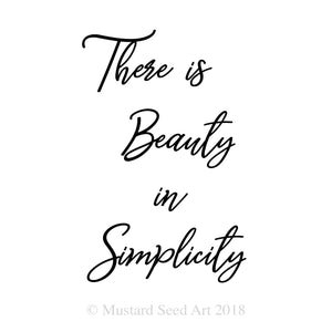 Beauty In Simplicity