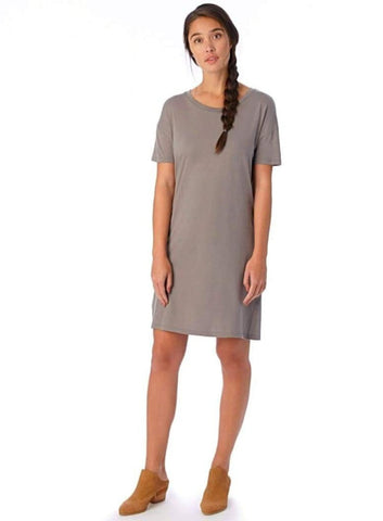 Straight Up T-Shirt Dress - Harvest Beauty