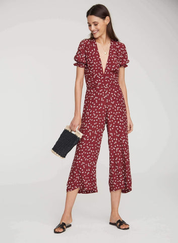 Bonnie Jumpsuit Betina Floral - Harvest Beauty
