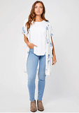 Caleb Short Sleeve Kimono  $ 75.00 CAD  Style# GF190-9108  DETAILS: This piece is so beautiful and perfect for going into spring & summer.  Great as a layering piece, or beach cover up. Y  You can rock this baby with your favourite jeans and a tank, or over a dress for brunch!  And who doesn't love a little floral in their life??  100% Viscose.  One size fits all.