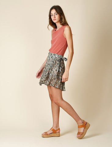 Chiffon Wrap Skirt - Harvest Beauty