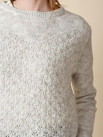 Needle Stitch Sweater - Harvest Beauty