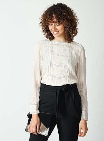 Embroidered Blouse - Harvest Beauty
