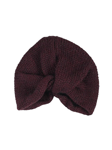 Turban Cap in Mahogany - Harvest Beauty