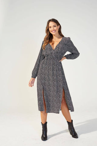 Feel It Again Midi Dress - Harvest Beauty