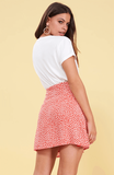 Tiny Bloom Mini Skirt - Harvest Beauty