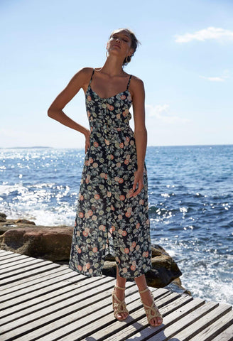 Valencia Midi Dress - Harvest Beauty