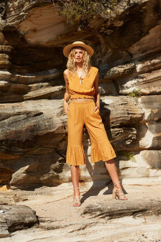 Island Escape Pants - Harvest Beauty
