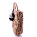 100% HANDMADE, NATURAL, UNIQUE AND CHIC Exquisite design Made from 100% natural rattan fibre with elaborate handwoven knit by Local Artisans.