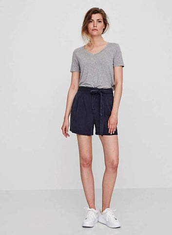 High Waist Shorts - Harvest Beauty