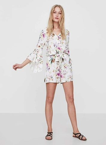 Iselin Viscose Playsuit - Harvest Beauty