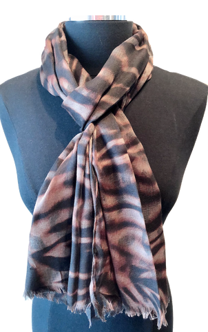 Harvest Lightweight Animal Print Scarf - Harvest Beauty