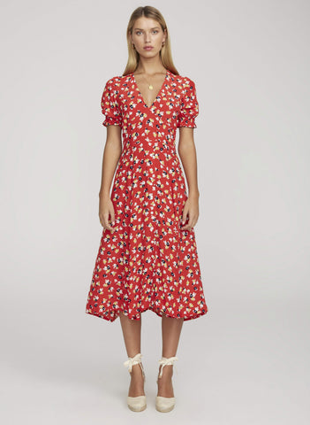 Ari Midi Dress - Harvest Beauty