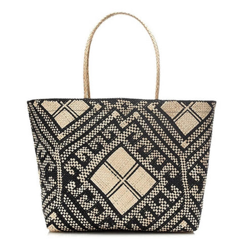 Malaya Woven Tote Bag - Harvest Beauty