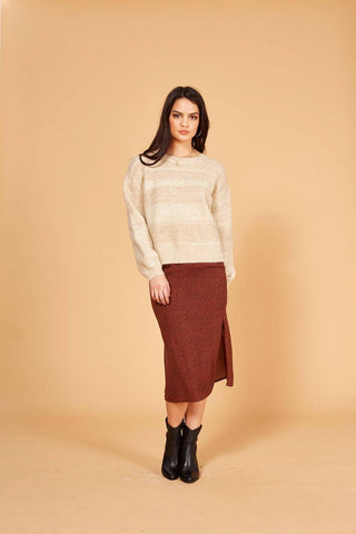 Vira Knit Jumper - Harvest Beauty