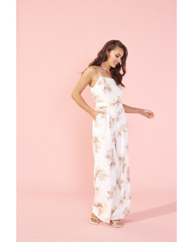 Tropic Dreaming Jumpsuit - Harvest Beauty